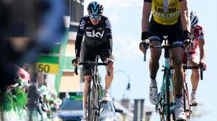 Chris Froome en el pasado Tour de Romandía.
