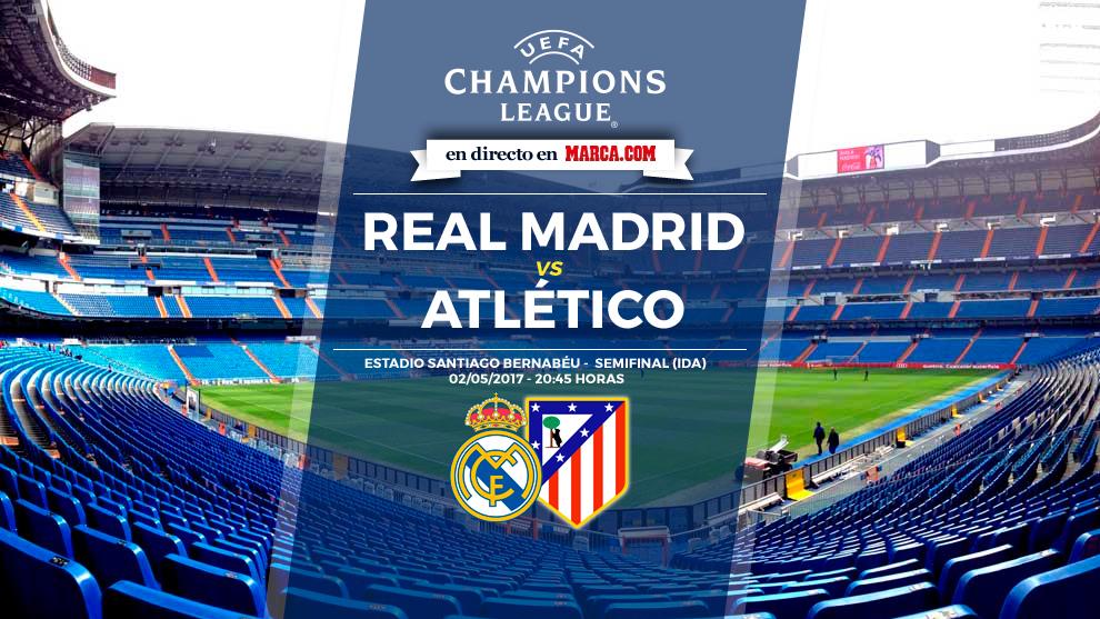 Real Madrid vs Atlético de Madrid en directo