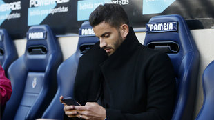 Musacchio durante el partido entre el Villarreal y el Sporting de...