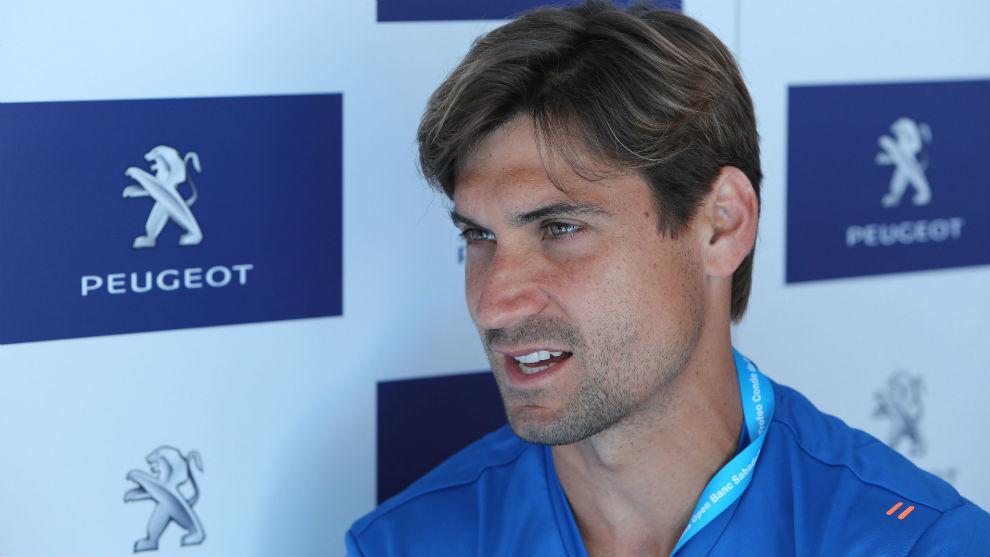 Ferrer, durante la entrevista