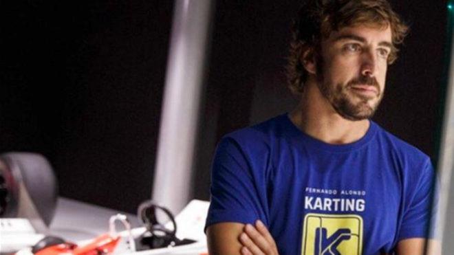 Alonso colgó está foto en su cuenta de Twitter.