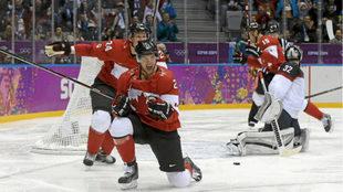 Canadá, durante los Juegos de Sochi.