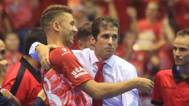 Pito y Duda, tras ganar la Supercopa de España esta temporada.