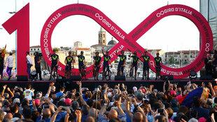 Presentación del equipo Movistar en el día previo al inicio de la...