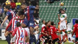 El Girona-Huesca y el Mallorca-Elche centrarán buena parte del...