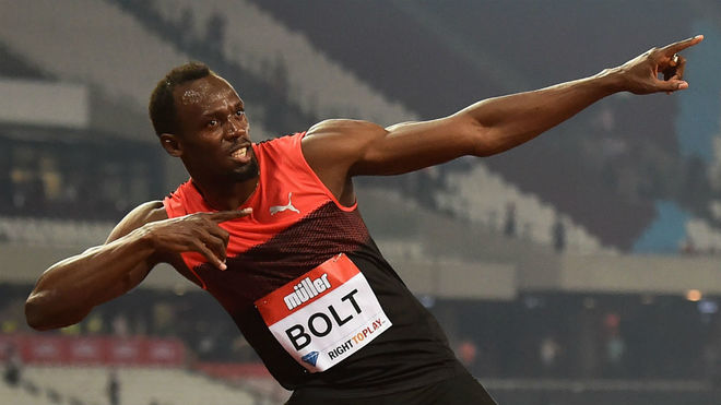 Usain Bolt, en Londres en 2016.