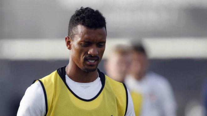 El jugador del Valencia Luis Nani