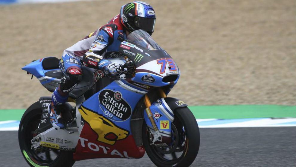 Álex Márquez, piloto de Moto2