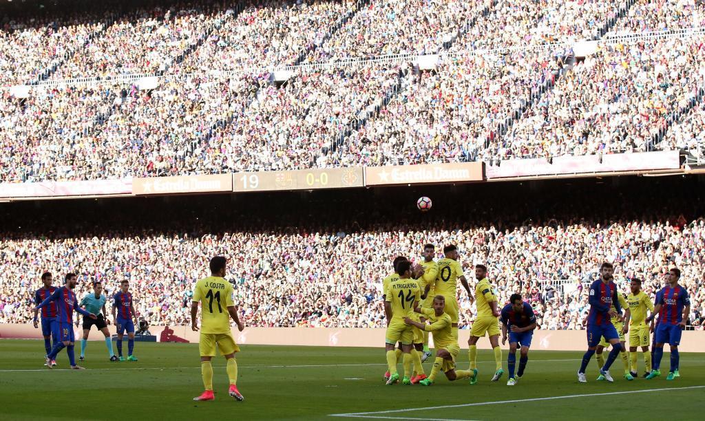 Barcelona goleó 4-1 al Villarreal