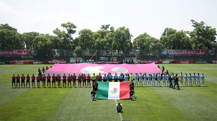 La Liga MX daba la bienvenida a las finalistas de la primera Copa...
