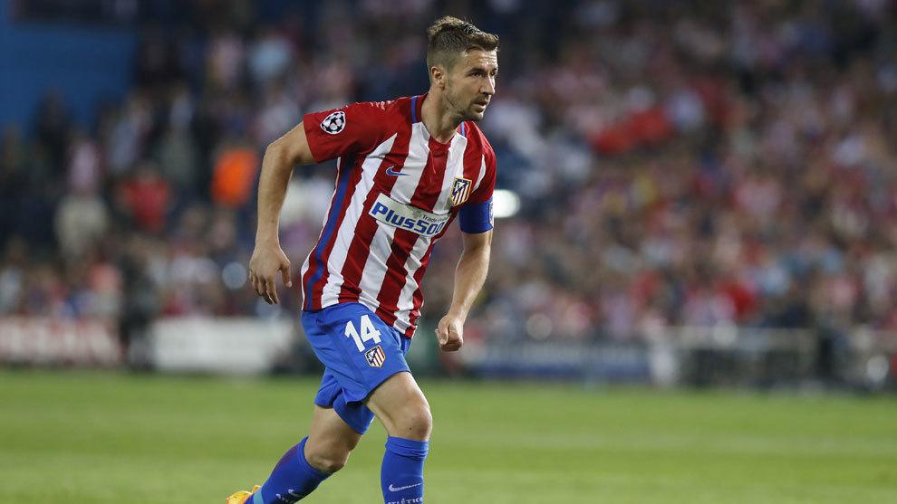 Gabi durante el partido de ida frente al Real Madrid