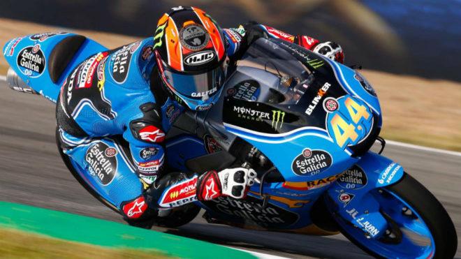 Aarón Canet, en el Circuito de Jerez.