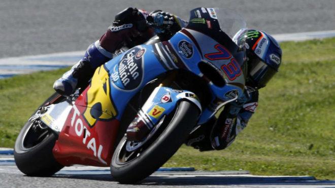 Álex Márquez, en el Circuito de Jerez.