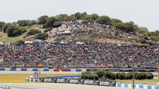 Gran ambiente en Jerez.