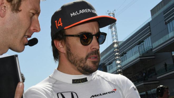Alonso, en Sochi.