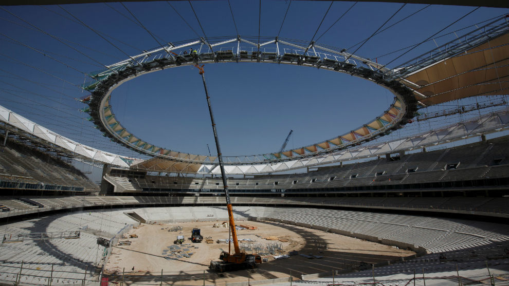 Panorámica del Wanda Metropolitano.