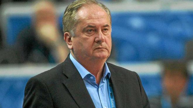 Maljkovic, exseleccionador de Eslovenia, en el EuroBasket 2011.
