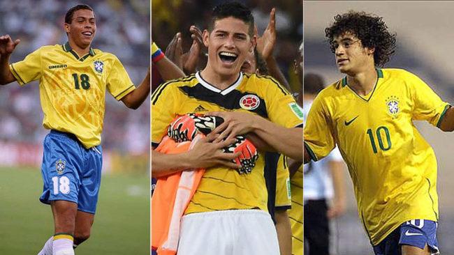 Ronaldo, James y Coutinho, otros que triunfaron en un Sudamericano sub...