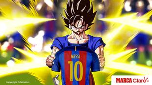 Poder incomparable en el campo, Messi es nuestro Goku.