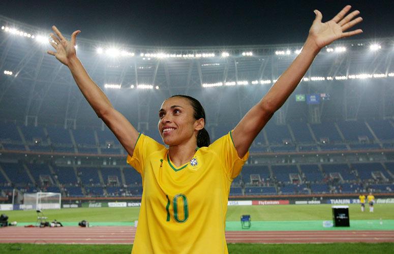La Ronaldo del fútbol femenino es considerada como la mejor...