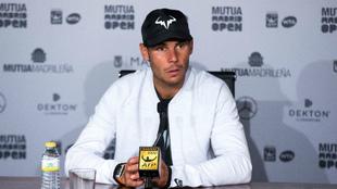 Rafael Nadal, tras jugar ante Fognini