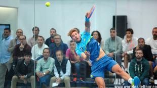 Álex Ruiz, en la primera ronda del A Coruña Open