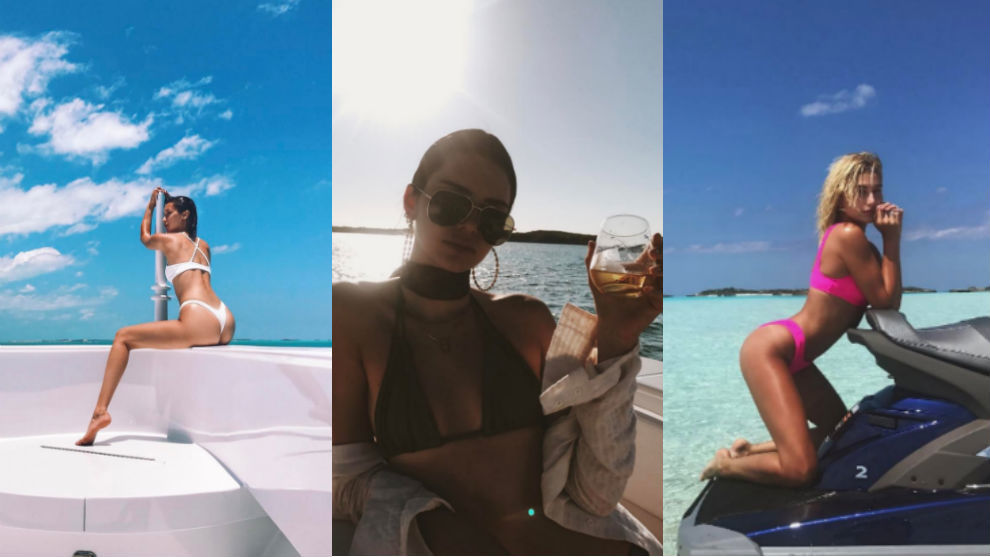 Kendall Jenner, Bella Hadid y Hailey Baldwin