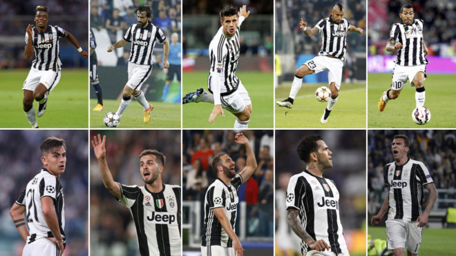 Seven Differences Between 2015 And 2017 Versions Of Juventus Marca In English