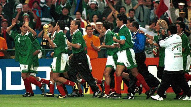 México tocó el cielo de la Copa Conferderaciones en 1999