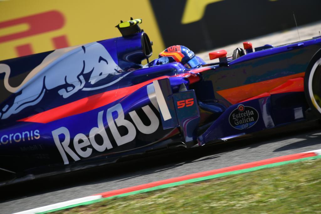 Carlos Sainz, durante los últimos entrenamientos libres