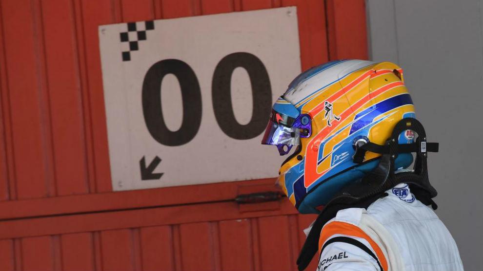 Alonso, tras acabar el GP de España