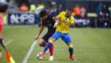 Andr� Gomes jug� de lateral derecho ante Las Palmas