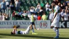 Borja Valle se retira decepcionado el s�bado, mientras Fabi�n se...