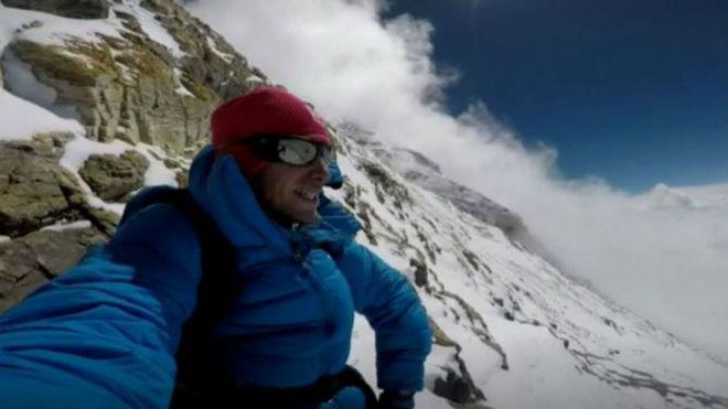 Kilian Jornet, en el Everest.