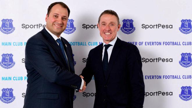 El Everton firmó con SportPesa el mayor acuerdo de patrocinio de su historia
