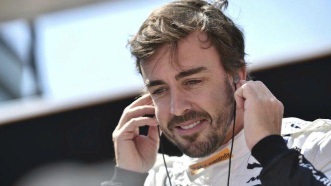 Alonso, hoy en Indy.