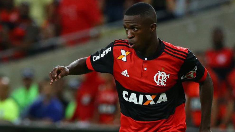 Real Madrid  El Flamengo renueva a Vinicius Junior hasta 2022 ... da080cf869c9e