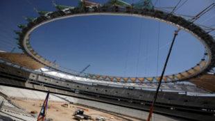 El futuro estadio del Atl�tico de Madrid, Wanda Metropolitano