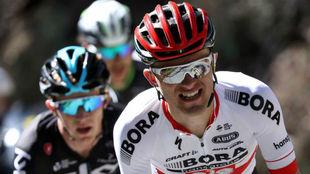 Rafal Majka, durante la segunda etapa del Tour de California.