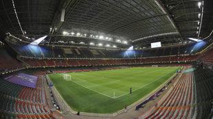 Vista interior del Millennium Stadium de Cardiff, sede de la final.