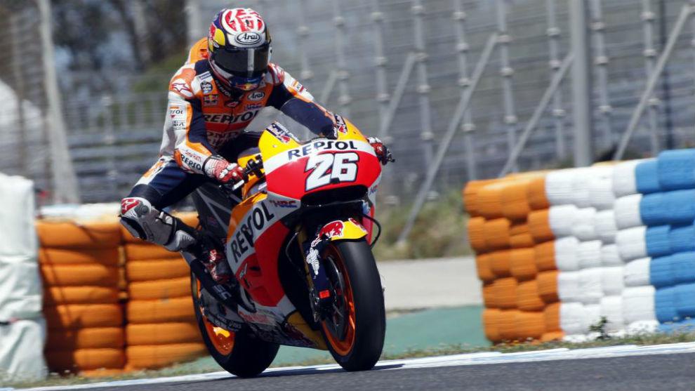 Dani Pedrosa, en los pasados test de Jerez