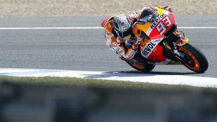 Marc M�rquez, en los pasados test de MotoGP