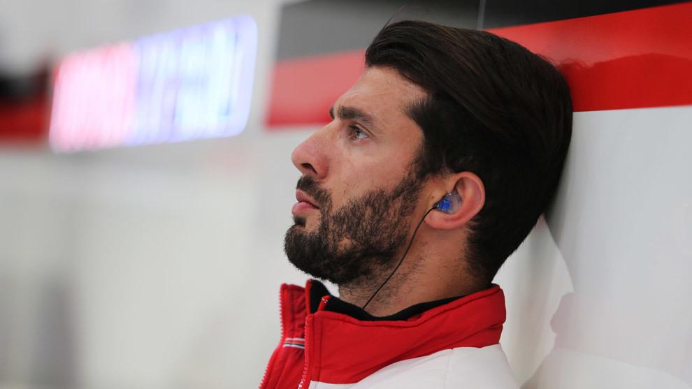 López vio la carrera de Spa desde el box