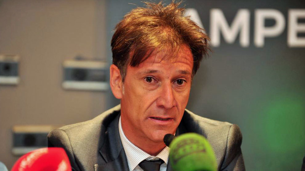 Alfonso Pérez, en rueda de prensa