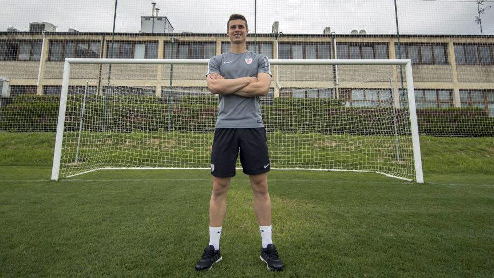 El portero del Athletic, Kepa.