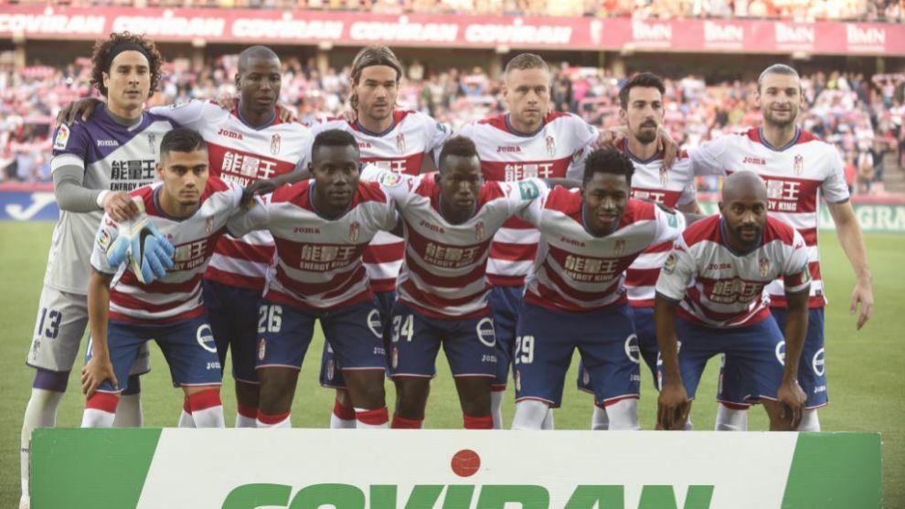 Once del Granada CF.