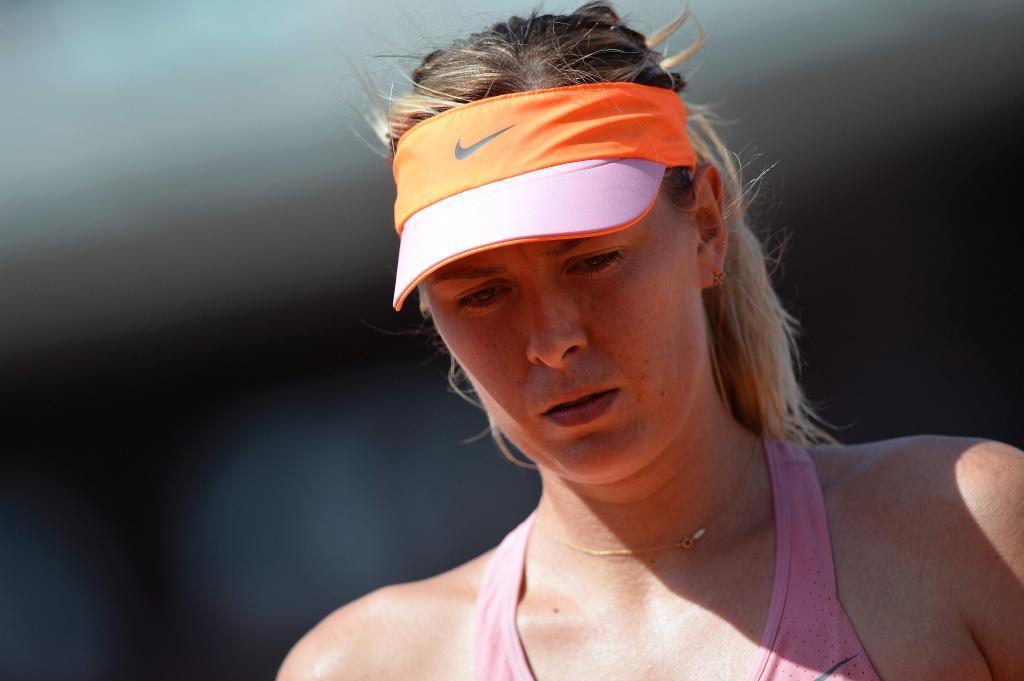 Maria Sharapova durante el pasado Roland Garros
