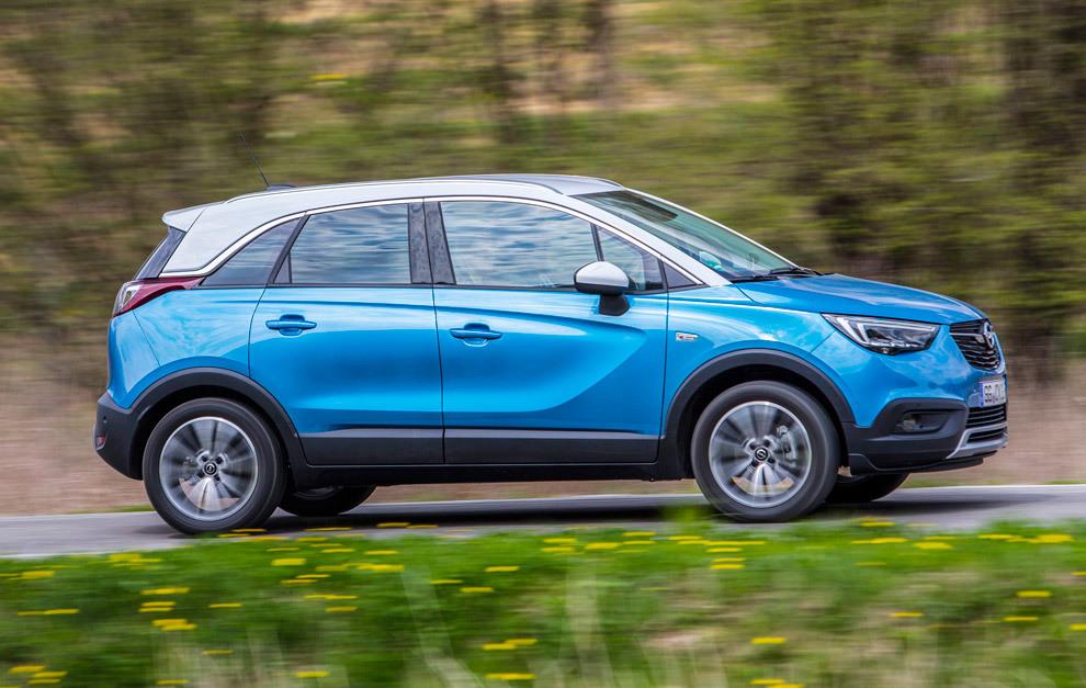 Al Volante Del Opel Crossland X El Crossland Cambia El