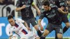 Valbuena, durante el partido contra el Ajax de Uefa Europa League
