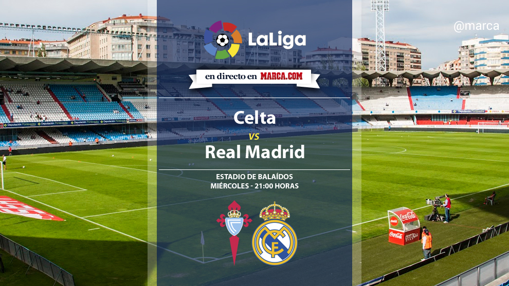 Liga santander celta vs real madrid aplazado horario y for Futbol madrid hoy hora
